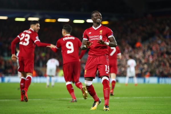 Liverpool : Sadio Mané marque son deuxième but en ligue des champions
