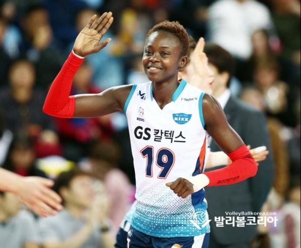 Fatou Diouck, mvp du championnat de Corée