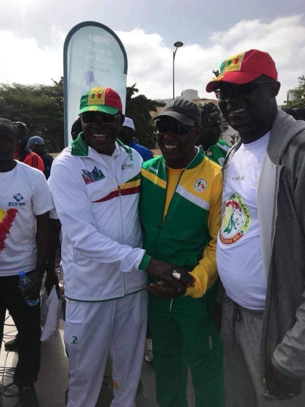 Matar Ba après la randonnée pédestre : «Notre ambition, c'est de rentrer au Sénégal avec le trophée»