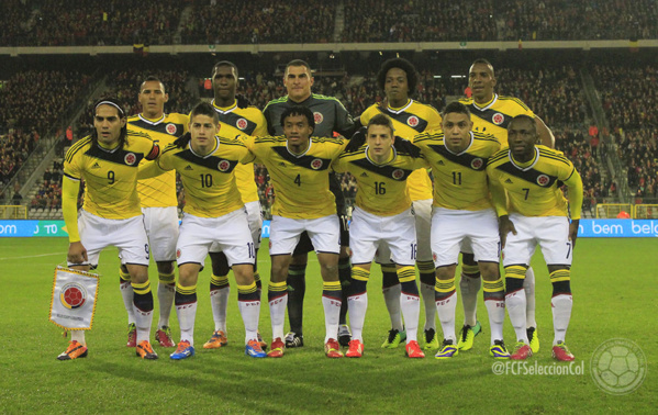 Colombie publication des 35 joueurs avec le capitaine Falcao aux commandes