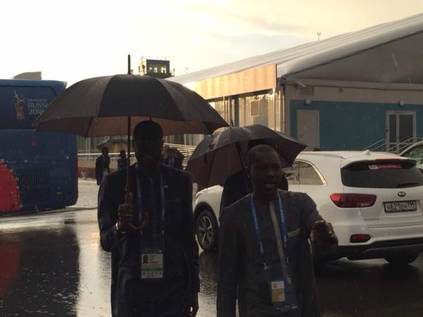 Mondial 2018 :  L'équipe du Sénégal  est arrivée à Kaluga
