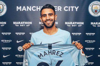 Mercato : Manchester City enrôle Riyad Mahrez