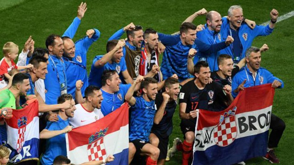 C.D.M : La Croatie se passe de l'Angleterre et rejoint la France en finale