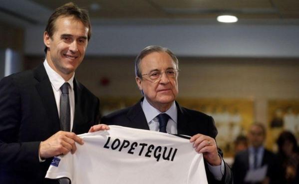 La première exigence mercato de Julen Lopetegui au Real Madrid