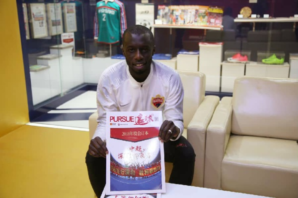 Officiel : Cheikh Mbengue a rejoint Shenzhen Kaisa