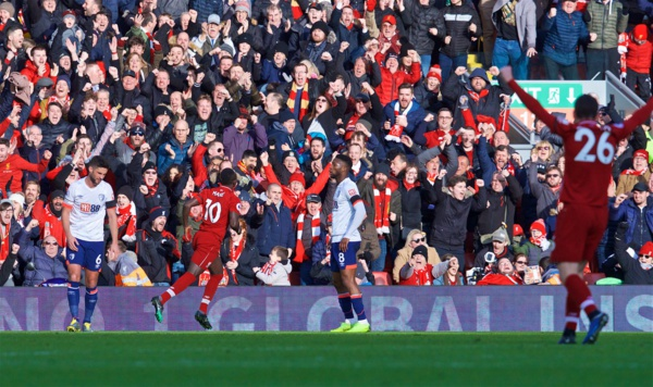 Première League : Sadio Mané marque son 12e but de la saison