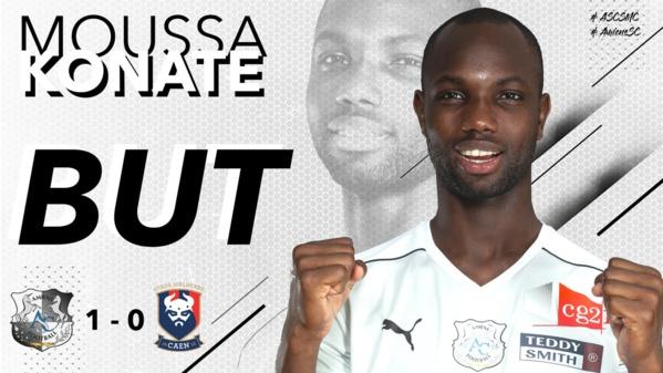 Ligue 1 : Moussa Konaté offre une victoire à Amiens face à Caen (1-0)