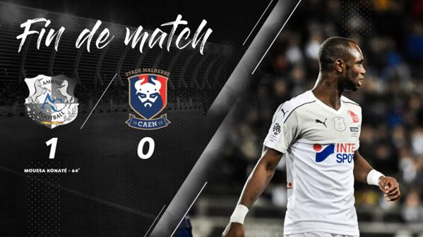 Amiens : Konaté s'amuse de sa réussite