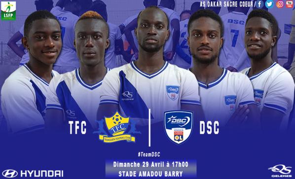 Ligue 1 : Dakar Sacré Cœur domine Teungueth FC et prend la 2e place.