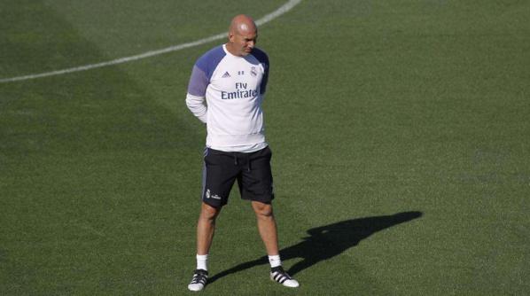 Real Madrid: Premier entraînement pour Zidane