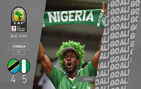 Match d'ouverture CAN U17 : la Tanzanie et le Nigéria offre un match prolifique en buts