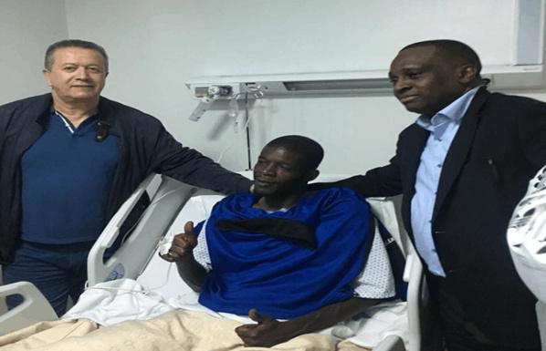 Video :  réaction de Khadim Ndiaye après son opération
