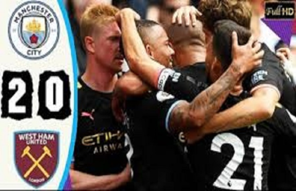 Premier League : Manchester City écrase West Ham (5-0)
