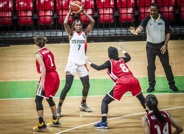 Afrobasket féminin : La Côte d'Ivoire se relance face à l'Egypte