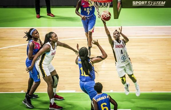 Afrobasket féminin : L'Angola se ressaisit face à la RDC (69-49)