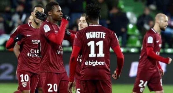 Metz : Opa Nguette délivre la passe, Habib Diallo renvoie la balle au fond