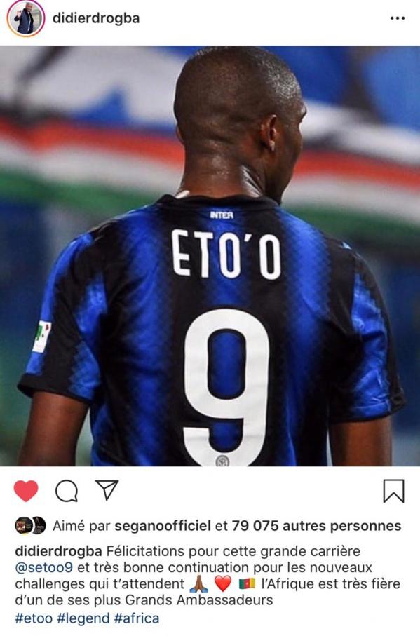 Officiel: Eto arrête sa carrière de footballeur