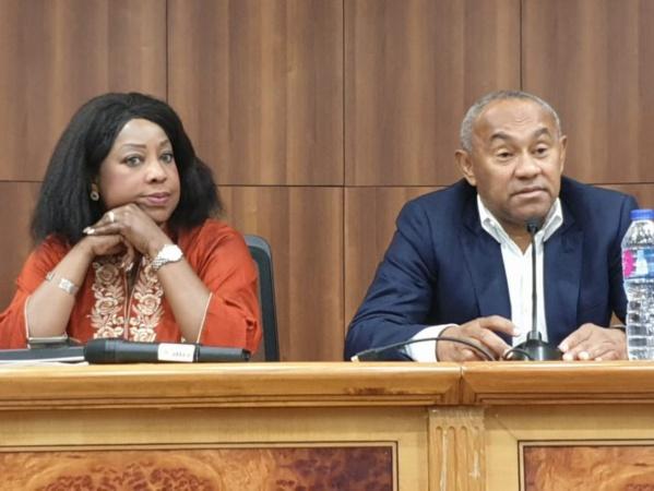 Ahmad et Fatma Samoura annoncés à l'AG de la zone ouest A, ce week-end