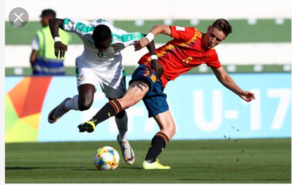 Mondial U17: le Sénégal sorti par l'Espagne (1-2)