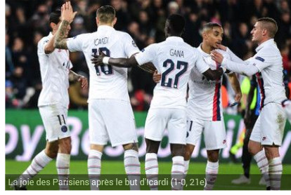 Ligue des champions : Paris SG de Gana Gueye domine FC Bruges de Krepin Diatta  (1-0)