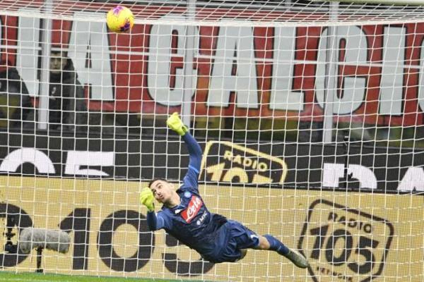 #SerieA - Une frappe à 111 kms/h de Lukaku blesse le gardien de Naples