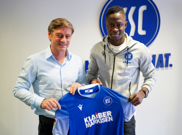 Mercato : Babacar Gueye quitte Paderborn pour Karlsruher (officiel)