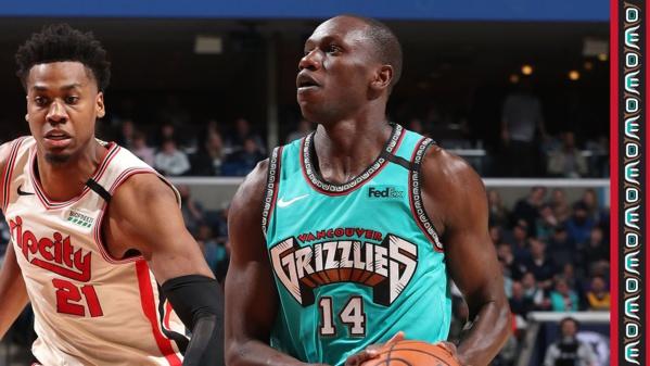 NBA-Les premiers minute de Gorgui Dieng avec les Grizzlies