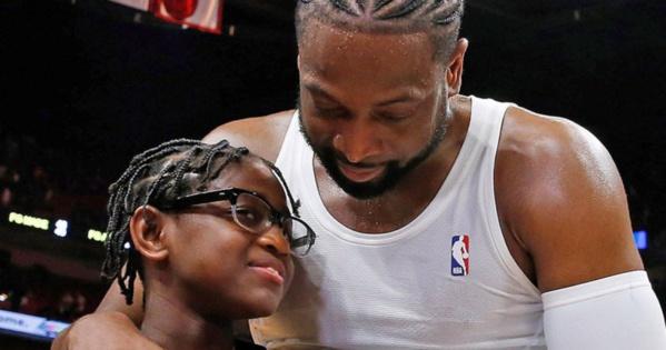 Dwyane Wade soutient totalement la volonté de son fils Zion, 12 ans, de devenir une fille et se faire appeler Zaya