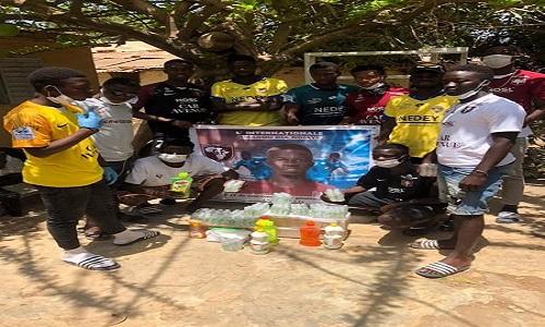 Lutte contre le COVID-19: Amadou Dia Ndiaye se joint à l'élan de solidarité des sportifs