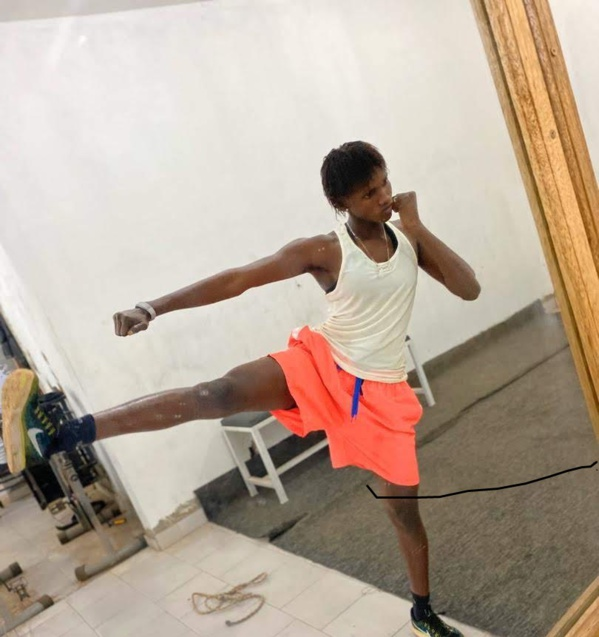 Dieynaba Diallo-Championne d'Afrique de Kung-fu Wushu : Une « Lionne » qui rêve d'un titre olympique