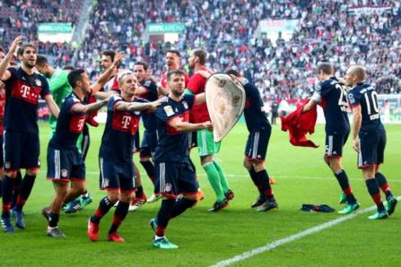 Le Bayern Munich a scellé samedi son 30e titre de champion d'Allemagne