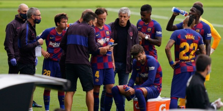 Barça : Ça chauffe dans les vestiaires