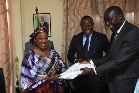 Sénégal : les rêves de Fatma Samoura pour l'équipe nationale