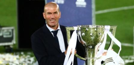 Zidane désigné meilleur entraîneur de club