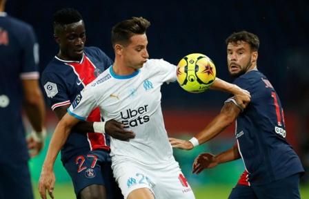 Derby français : Marseille rend visite et bat le Paris SG (0-1)