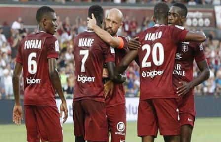 Ligue 1 : Ibrahima Niane porte Metz, Boulaya Dia buteur pour Reims (2-1)