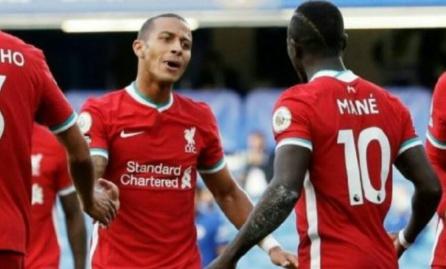 Liverpool : Sadio Mané et Thiago Alcantara guéris du coronavirus