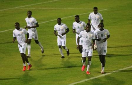 Equipe nationale : les Lions se sont entraînés après l'annulation du match