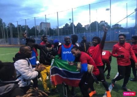 Suède : Banjul FC monte en 4eme division