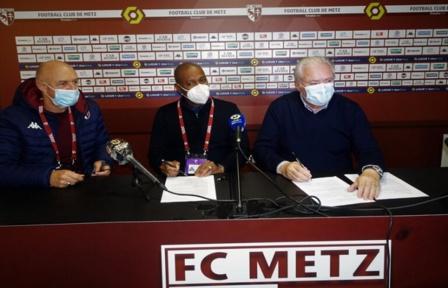 Génération Foot et Metz renouvelle leur partenariat pour 10 ans encore