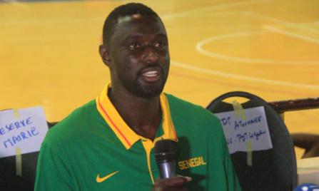 Boniface Ndong, coach de l'équipe nationale masculine de basket : « Mon objectif est de … »