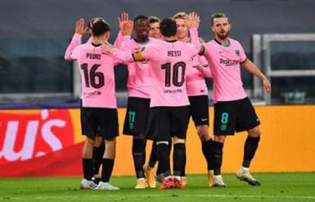 Ligue des champions : Messi bat Juventus à l'absence de Ronaldo