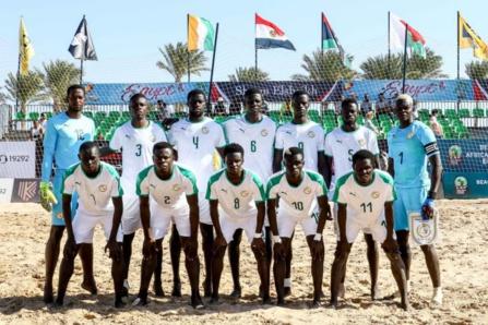 CAN Beach Soccer : la liste des 15 joueurs publiée