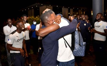Equipe nationale : Les images de l'arrivée d'Edouard Mendy