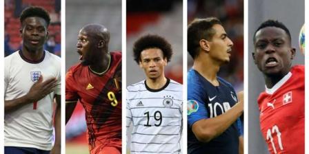 Euro 2020 : 47 joueurs d'origine africaine sont présents