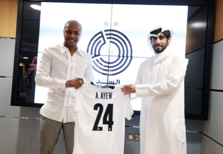 Qatar : André Ayew retrouve Xavi à Al Sadd