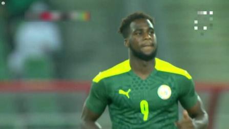Réaction de Boulaye Dia après son premier but en équipe nationale
