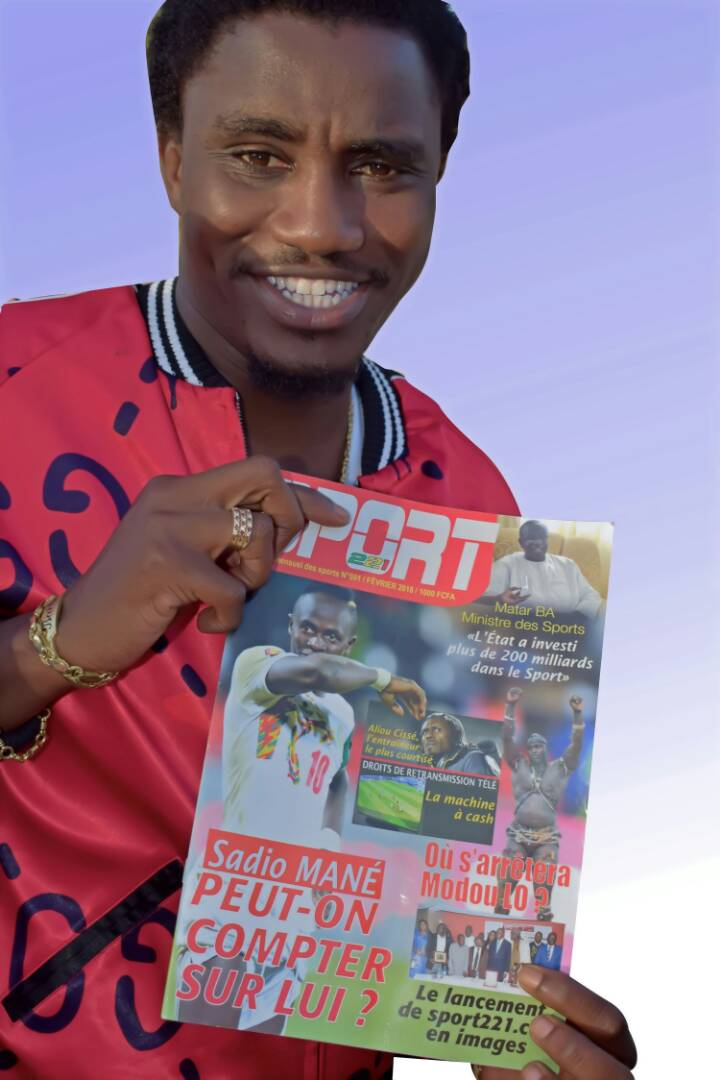 Le premier numéro de votre magazine SPORT221 est disponible