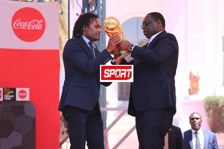 La Coupe du monde au Sénégal: les images de la cérémonie au Palais