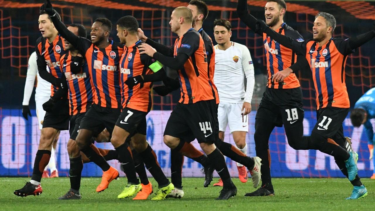 L.D.C/ 8éme de finale retour As rome vs Shakhtar, belle répétition pour les deux clubs